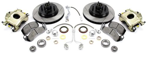 SVE Mustang Front Big Brake Upgrade Kit (87-93) - Picture of SVE Mustang Front Big Brake Upgrade Kit (87-93)