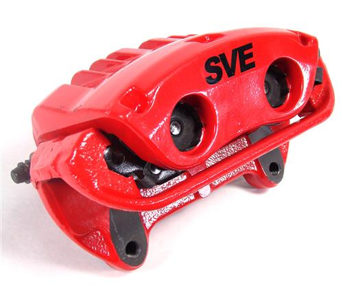 SVE Mustang Cobra Style Front Brake Caliper Kit Red (94-04)