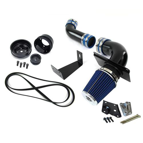 SVE Mustang 5.0L Performance Starter Kit w/ Black Pulleys (89-93)