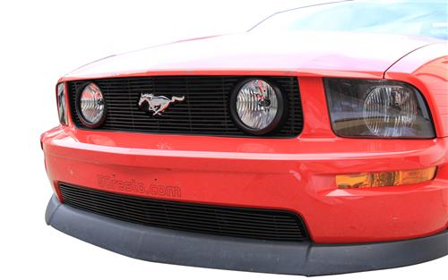 Mustang Billet GT Grille Kit W/ Pony Opening Black (05-09) - Picture of Mustang Billet GT Grille Kit W/ Pony Opening Black (05-09)