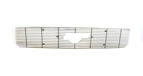05-09 Ford Mustang V6 Upper Polished Billet Grille with Pony Cutout