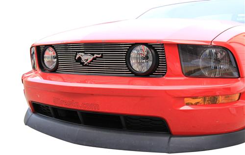 Mustang GT Polished Billet Grille (05-09) - Mustang GT Polished Billet Grille (05-09)