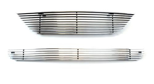 SVE  Mustang Billet Upper & Lower Grille Kit w/o Pony Polished (99-04)