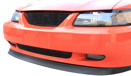 Mustang Billet Grille Kit W/O Pony Opening Black (99-04) - Picture of Mustang Billet Grille Kit W/O Pony Opening Black (99-04)
