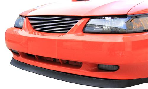 SVE Mustang Billet Grille w/o Pony Polished (99-04) - Picture of SVE Mustang Billet Grille w/o Pony Polished (99-04)
