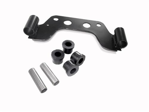 "Mustang 2.5"" Off Road H-Pipe & Exhaust Hanger Kit (86-93)"