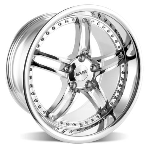 SVE Mustang Series 2 Wheel - 18x10 Chrome (94-04) - SVE Mustang Series 2 Wheel - 18x10 Chrome (94-04)