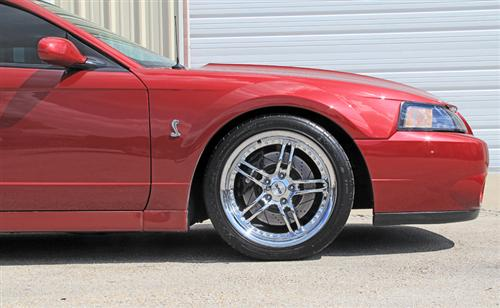 SVE Mustang Series 2 Wheel - 18x9 Chrome (94-04) - SVE Mustang Series 2 Wheel - 18x9 Chrome (94-04)