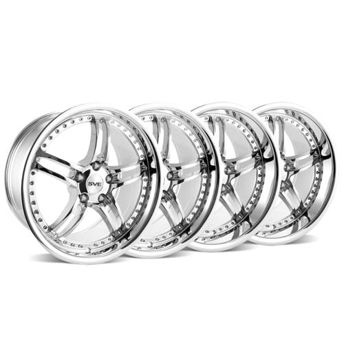 SVE Mustang Series 2 Wheel Kit -18x9/10 Chrome (94-04) - SVE Mustang Series 2 Wheel Kit -18x9/10 Chrome (94-04)