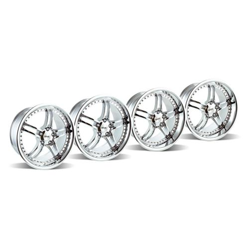 1994-2004 Mustang SVE Series 2 Wheel Kit Chrome 18x9 and 18x101994-2004 Mustang SVE Series 2 Wheel Kit Chrome 18x9 and 18x10 - 1994-2004 Mustang SVE Series 2 Wheel Kit Chrome 18x9 and 18x10