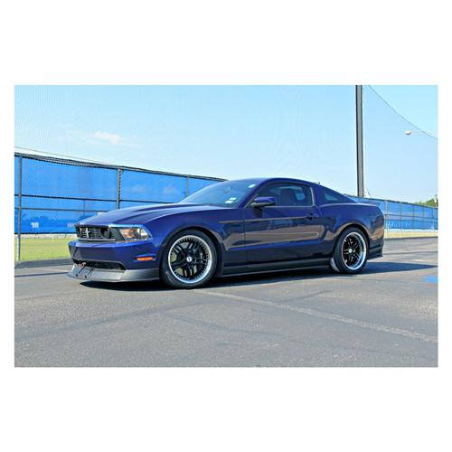 "SVE Mustang Series 2 Wheel - 19x10"" Black w/ Polished Lip (05-14) - SVE Mustang Series 2 Wheel - 19x10"" Black w/ Polished Lip (05-14)"