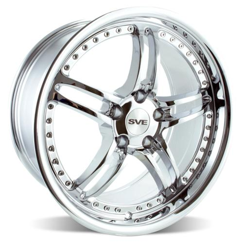 2005-13 Mustang SVE Series 2 Wheel Chrome - 2005-13 Mustang SVE Series 2 Wheel Chrome