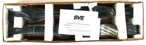 SVE Mustang Tubular Rear Upper & Lower Control Arm Kit Black (79-04)