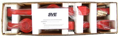 SVE Mustang Tubular Rear Upper & Lower Control Arm Kit Red (79-04)