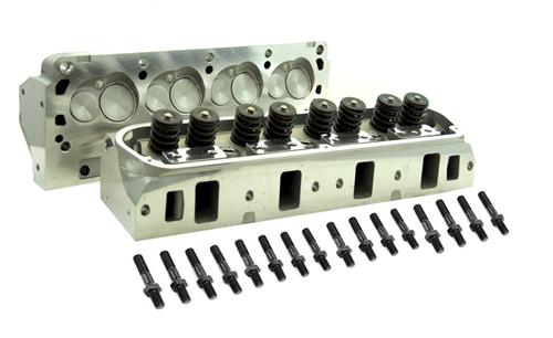 79-95 MUSTANG 5.0L/5.8L SVE FULLY ASSEMBLED 170CC STUD MOUNT CYLINDER HEADS WITH 61CC COMBUSTION CHAMBER - 79-95 MUSTANG 5.0L/5.8L SVE FULLY ASSEMBLED 170CC STUD MOUNT CYLINDER HEADS WITH 61CC COMBUSTION CHAMBER