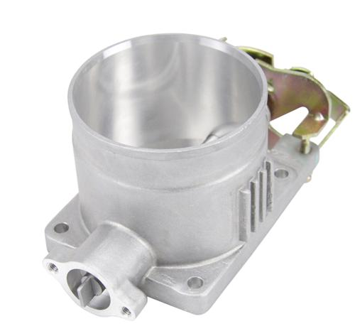 96-04 Mustang SVE Throttle Body 75mm Satin Finish - Picture of96-04 Mustang SVE Throttle Body 75mm Satin Finish