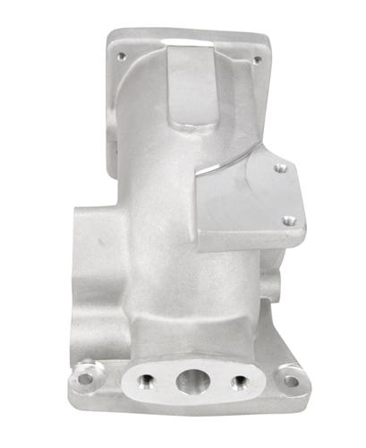 1996-04 Mustang SVE 75mm Intake Plenum Satin Finish