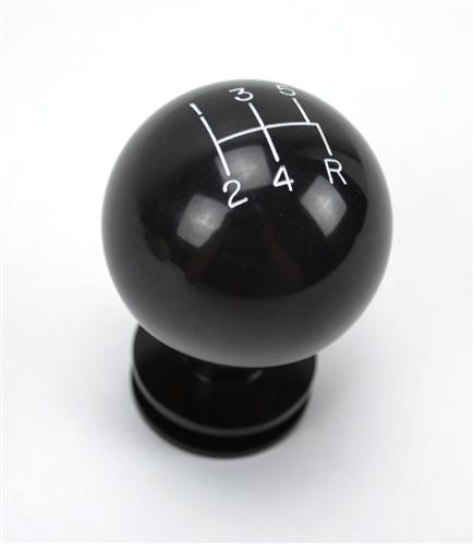 Mustang Retro Black 5-Speed Shift Knob (05-10)