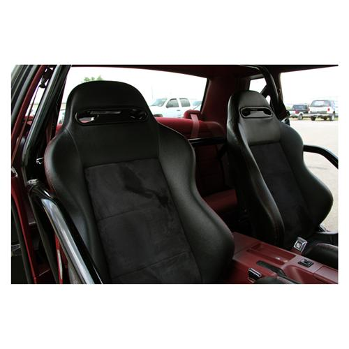 SVE Mustang S1 Racing Seats w/ Seat Tracks (Pair) (79-04) - SVE Mustang S1 Racing Seats w/ Seat Tracks (Pair) (79-04)