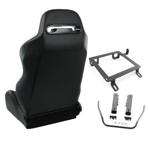 Mustang Black Racing Seats | 1979-04 SVE S1 Racing Seats
