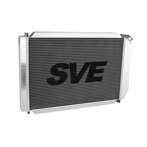 SVE Mustang 5.0L Aluminum Radiator & Fan Assembly  (79-93)