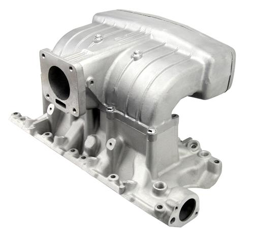 Mustang 5.0 Performance Intake Manifold w/ 70mm Throttle Body & EGR Spacer (86-93) 5.0