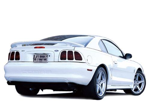 Mustang Smoked Tail Light Tint (96-98) - Picture of Mustang Smoked Tail Light Tint (96-98)