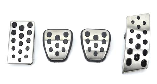 SVE Mustang Bullitt Pedal Cover Kit, Manual Transmission (94-04)