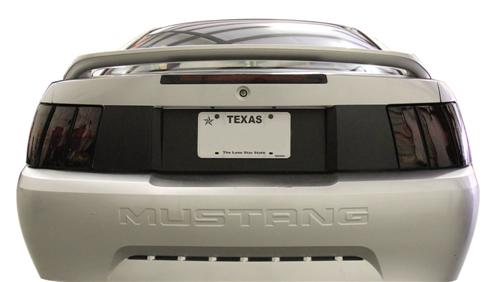 1999-2004 Mustang SVE Smoked Tailight & Rear Blackout Kit.    Consists Of Sve-9904T And Sve-9904Rb - Picture of 1999-2004 Mustang SVE Smoked Tailight & Rear Blackout Kit.