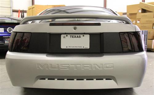 SVE Mustang Trunklid Blackout Flat Black (99-04) - Picture of SVE Mustang Trunklid Blackout Flat Black (99-04)