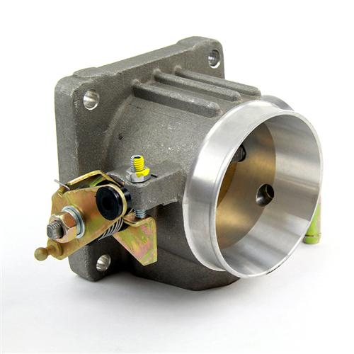 SVE Mustang 70mm Throttle Body Satin (86-93) 5.0L - SVE Mustang 70mm Throttle Body Satin (86-93) 5.0L
