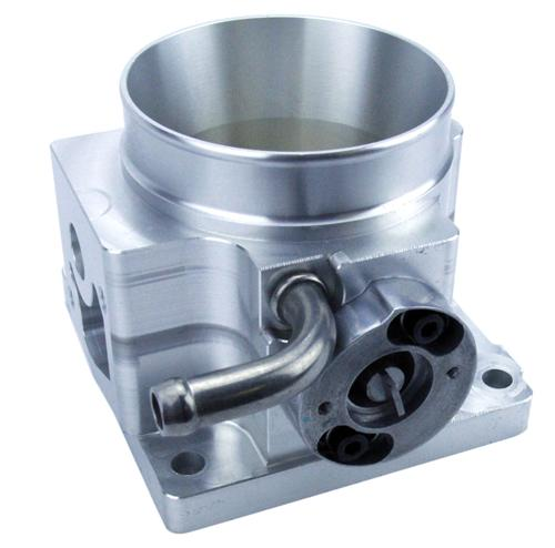 1986-1993 5.0L 70mm Polished SVE Throttle Body - Picture of 1986-1993 5.0L 70mm Polished SVE Throttle Body