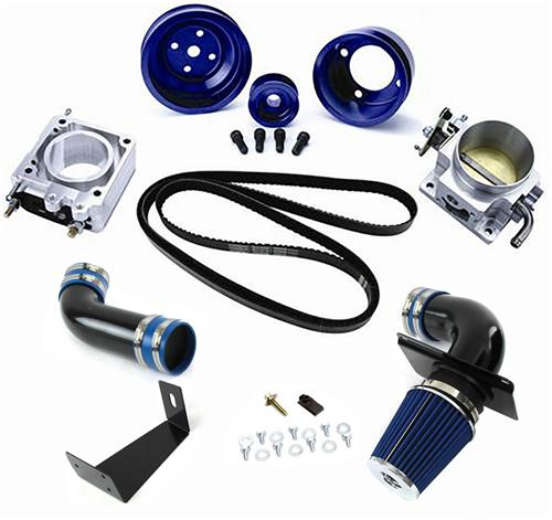 SVE Mustang Engine Performance Pack Blue (89-93) GT 5.0