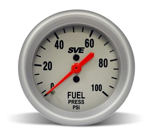 "SVE Mechanical Fuel Pressure Gauge 2 1/16"" - SVE Mechanical Fuel Pressure Gauge 2 1/16"""