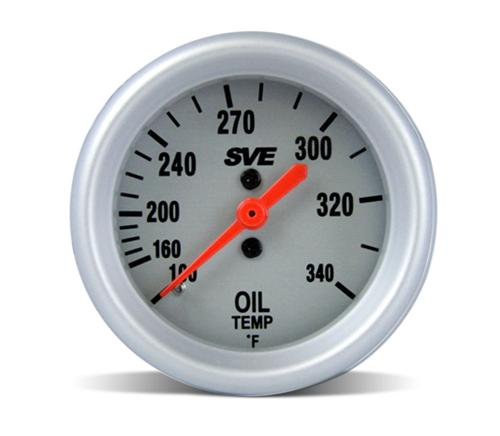 SVE Mechanical Oil Temp Gauge 2 1/16  Sitting On My Desk Whenever You Are Ready. - Photo of SVE Mechanical Oil Temp Gauge 2 1/16  Sitting On My Desk Whenever You Are Ready.