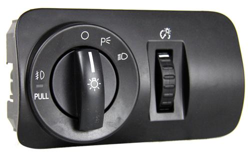 Mustang GT/V6 Headlight Switch with Fog Lights (05-09) - Mustang GT/V6 Headlight Switch with Fog Lights (05-09)