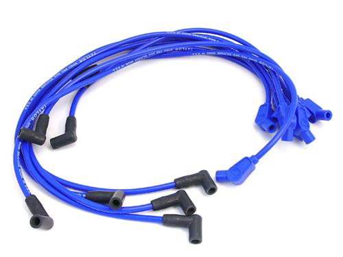 Mustang Spiro-Pro 8mm Spark Plug Wires Blue (86-93) 5.0 5.8