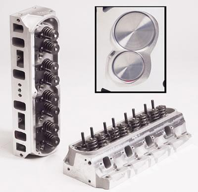 Trick Flow Twisted Wedge Aluminum Cylinder Heads 170cc Small Block Ford 51400002M61