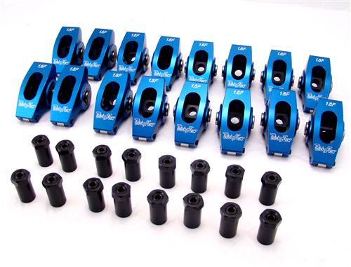 "Trick Flow 1.6 Ratio 3/8"" Stud Mount Rocker Arms For Small Block Ford 51400510"