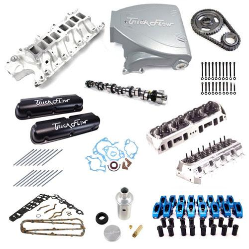 Edit Product Images: 87-93 MUSTANG 5.0L TOP END ENGINE KIT WITH SILVER TRICK FLOW TRACK HEAT INTAKE, TWISTED WEDGE HEADS AND TRICK FLOW STAGE 2 CAMSHAFT