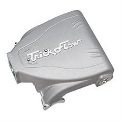 86-95 INTAKE MANIFOLD, 5.0L R SERIES WITH 90MM THROTTLE OPENING - SILVER POWDERCOATED UPPER