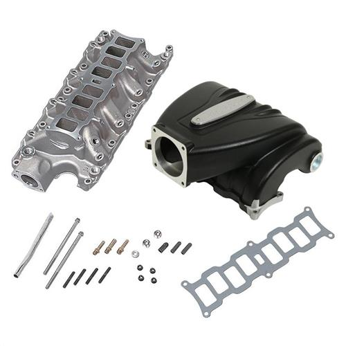 Trickflow Mustang R-Series Intake Manifold  with 90mm Throttle Opening - Black (86-95) 5.0 51511005