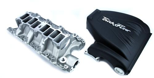 "86-95 MUSTANG 5.0L BLACK TRICK FLOW ""R"" SERIES INTAKE MANIFOLD WITH 90MM THROTTLE OPENING"