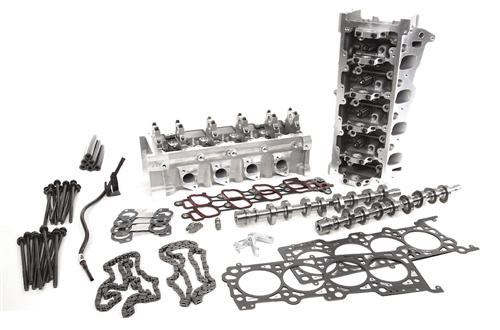 Trick Flow Mustang 380/375 Top End Engine Kit w/ 44cc Heads (96-04) 4.6 2V 519380375