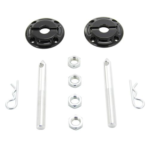 UPR Mustang Hood Pin Kit Black Billet (79-14) 1138-11 - UPR Mustang Hood Pin Kit Black Billet (79-14) 1138-11