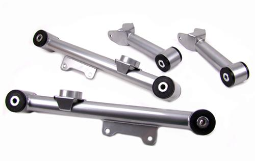 UPR Mustang Upper & Lower Rear Control Arm Kit Chromoly (79-98) 200209