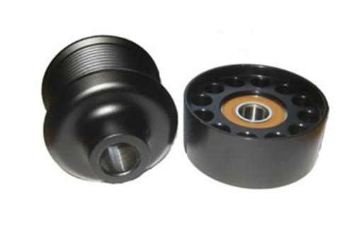 "2007-2012 GT500 Stock look 2.5"" Pulley  Comes with 2.5"" Pulley that looks like factory and 90mm Idler Pulley, nets 3-4psi  http://vmptuning.com/shelby-pulley-products/vmp25w90/ - 2007-2012 GT500 Stock look 2.5"" Pulley  Comes with 2.5"" Pulley that looks like factory and 90mm Idler Pulley, nets 3-4psi  http://vmptuning.com/shelby-pulley-products/vmp25w90/"