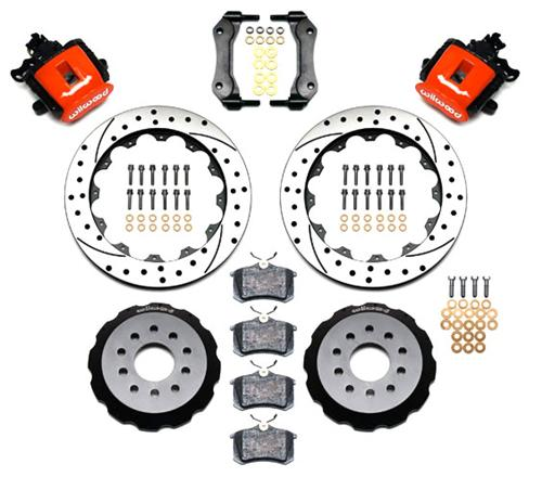 Wilwood Mustang Rear Brake Kit (94-04) 14010158DR - Wilwood Mustang Rear Brake Kit (94-04) 14010158DR