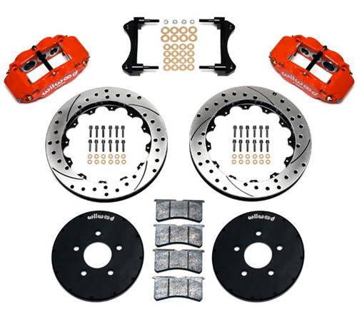 94-04 Mustang Wilwood Superlite 6R Front Brake Kit - 94-04 Mustang Wilwood Superlite 6R Front Brake Kit