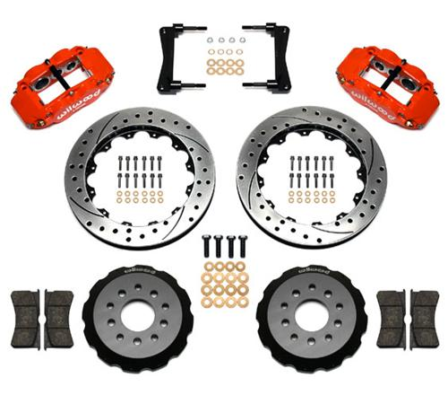 05-14 Mustang Wilwood Superlite 6R Front Brake Kit - 05-14 Mustang Wilwood Superlite 6R Front Brake Kit